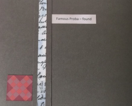 Famous Proba - found, cover